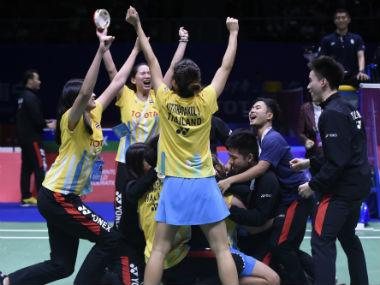 Sudirman Cup 2019: Ratchanok Intanon-led Thailand outsmart South Korea; China down Denmark in lopsided contest