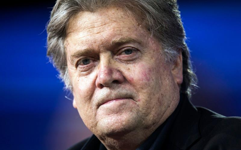 Former White House Chief Strategist Steve Bannon - EPA