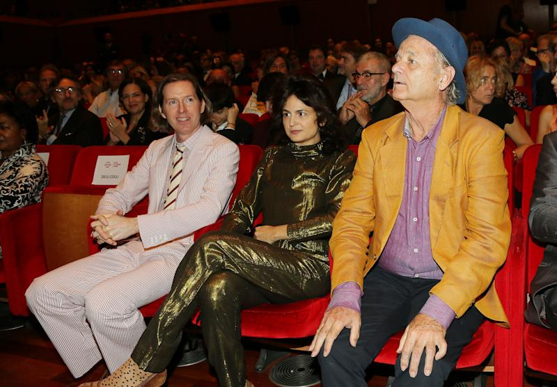Bill Murray at The Rome Film Festival, October 17, 2019.