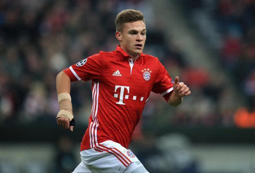 Bayern Munich's Joshua Kimmich is a reported target for Man City