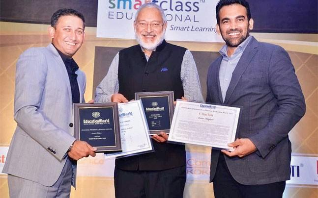 <p>Vasant Valley School has ranked India's  second best school and has scored the highest on the infrastructure provision  and sports education front. </p>