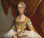 <p>In 18th Century Mexico, it was not uncommon to see women wearing faux beauty marks made from tortoiseshell or fabric. These artificial patches were called <em>chiqueadores </em>and were placed on the temple or forehead as a trendy style.</p>