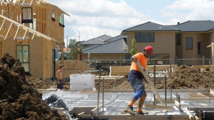 Construction shrinks at slower pace