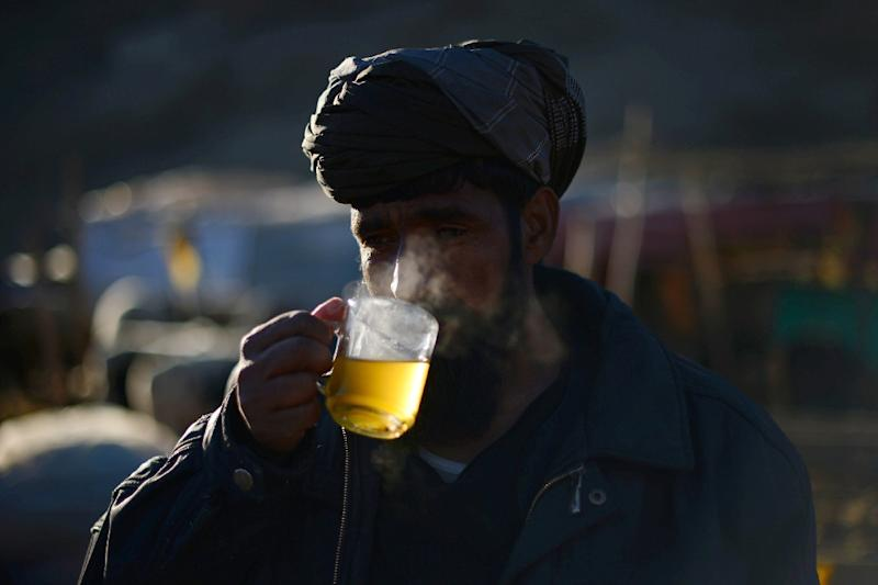 """A review of over 1,000 studies concluded that drinking """"very hot"""" beverages was """"probably carcinogenic to humans"""", the International Agency for Research on Cancer (IARC) said (AFP Photo/Wakil Kohsar)"""