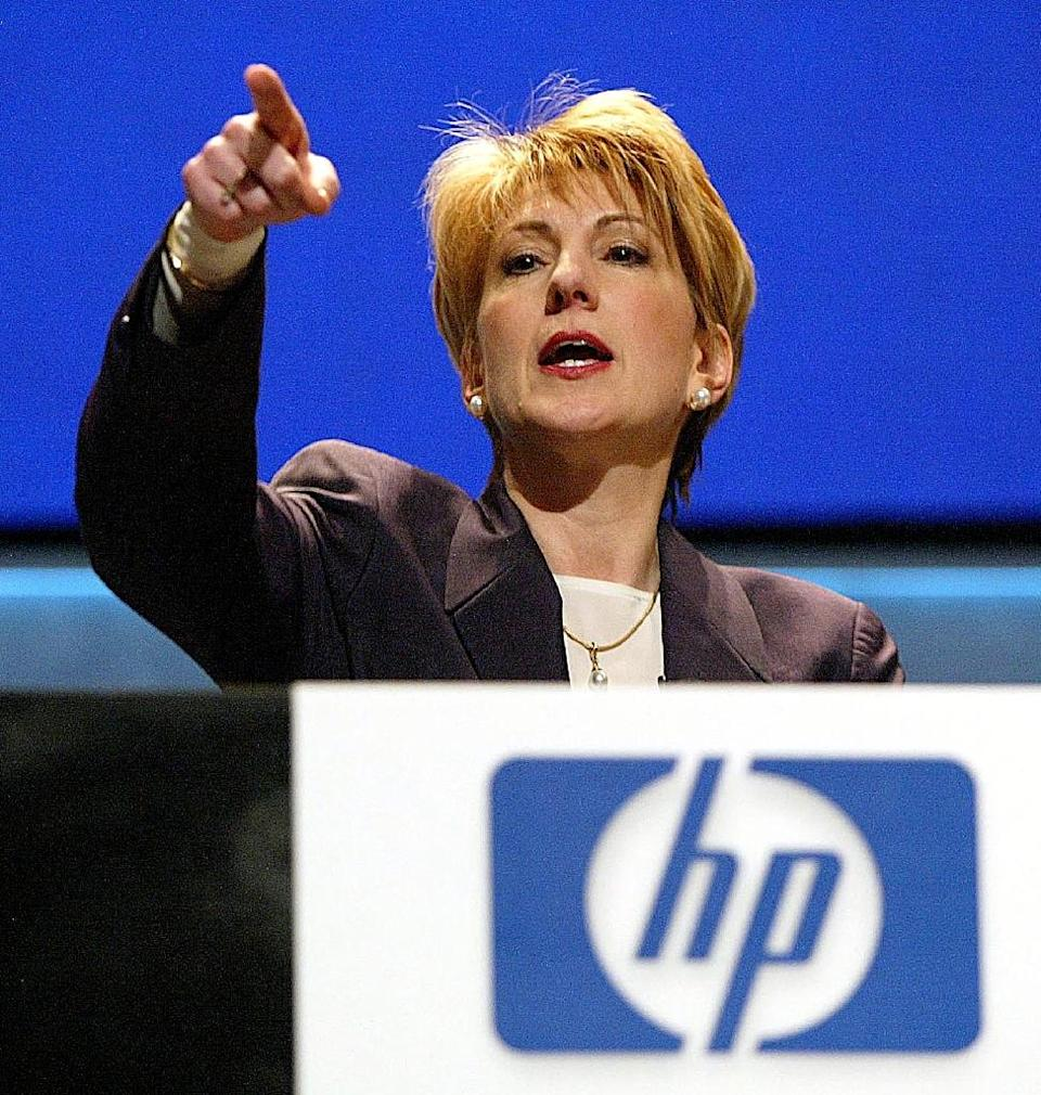 Carly Fiorina was named CEO of Hewlett-Packard in 1999, becoming the first woman to head a Fortune 50 company (AFP Photo/John G. Mabanglo)