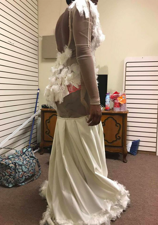 Malexa didn't try the dress on until the night before her prom. Photo:Facebook