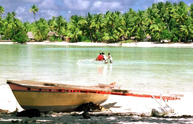 Low-lying Kiribati in the Pacific suffers from a range of environmental problems that have been linked to climate change, including storm surges, flooding and water contamination