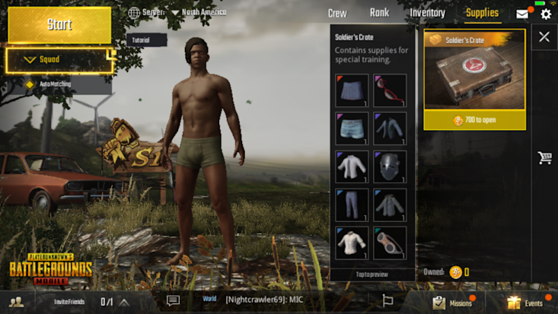 Pubg Mobile Guide How To Get Clothes Name Change Use