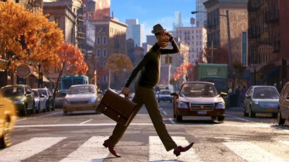 <p> When Pixar&#x2019;s 23rd feature made its bow at the London Film Festival in October, reviewers all agreed the animation giant was on its A-game. As New York jazz musician Joe (Jamie Foxx) was transported out of his body, Soul floated us away to The Great Before, where infant souls are readied to inhabit hosts on Earth... and where Joe must mentor the precocious 22 (Tina Fey).&#xA0; </p> <p> Moving between a photorealistic New York and the softer, more abstract The Great Before, Soul offered up stunning animation and a heart-swelling message about grabbing life where you can. We need this story right now, and Pixar gifted it to us for Christmas &#x2013; it landed on&#xA0;Disney Plus&#xA0;on 25 December, available to subscribers for no extra charge. &#x201C;The themes are heightened right now,&#x201D; said producer Dana Murray. &#x201C;We all agreed that we had to get the film out there.&#x201D; </p>