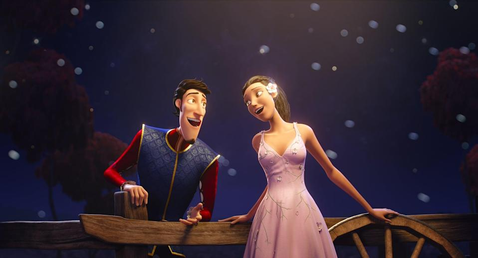 """<p><strong>Netflix's Description:</strong> """"On the eve of his 21st birthday, an adored prince must find his one, true soulmate before a spell takes away all love from his kingdom.""""</p> <p><a href=""""https://www.netflix.com/title/80998752"""" class=""""link rapid-noclick-resp"""" rel=""""nofollow noopener"""" target=""""_blank"""" data-ylk=""""slk:Stream Charming on Netflix!"""">Stream <strong>Charming</strong> on Netflix!</a></p>"""