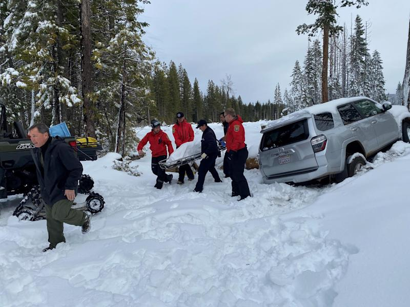 Officers rescue 68-year-old woman trapped in California mountains: Butte County Sheriff's Office
