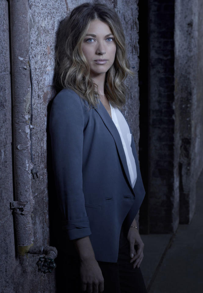 "Natalie Zea as Claire Matthews in ""The Following"" on Fox."