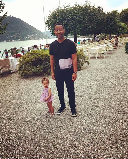 "<p>How cute is this? ""My babies in lake como,"" Chrissy shared. (Photo: <a href=""https://www.instagram.com/p/BXLRydXFYJH/?hl=en&taken-by=chrissyteigen"" rel=""nofollow noopener"" target=""_blank"" data-ylk=""slk:Chrissy Teigen via Instagram"" class=""link rapid-noclick-resp"">Chrissy Teigen via Instagram</a>) </p>"