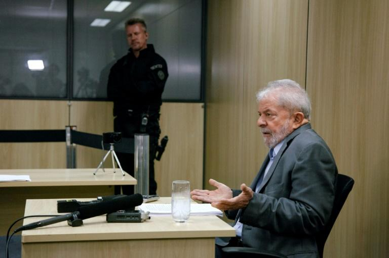 Former Brazilian President Luiz Inacio Lula da Silva won't apply for home detention as he appeals his conviction for accepting a bribe