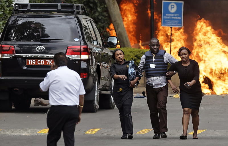 Six suspects, one Canadian, in court over Nairobi hotel attack