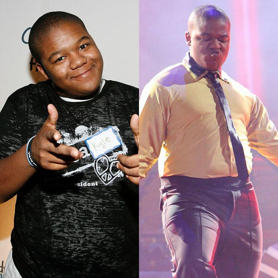 "<p>The former <em>That's So Raven</em> star worked hard throughout season 11 in 2010 and lost 18 pounds in the process. ""It's crazy to think you're going to come into a competition like this and not lose weight with the hours you're going to have to put in,"" he told <em><a href=""https://people.com/tv/dancing-with-the-stars-kyle-massey-losing-weight/"" rel=""nofollow noopener"" target=""_blank"" data-ylk=""slk:People"" class=""link rapid-noclick-resp"">People</a></em>. Kyle dropped the pounds despite some indulgent food choices. ""He ate a whole pizza today,"" his partner Lacey Schwimmer told the publication.</p>"