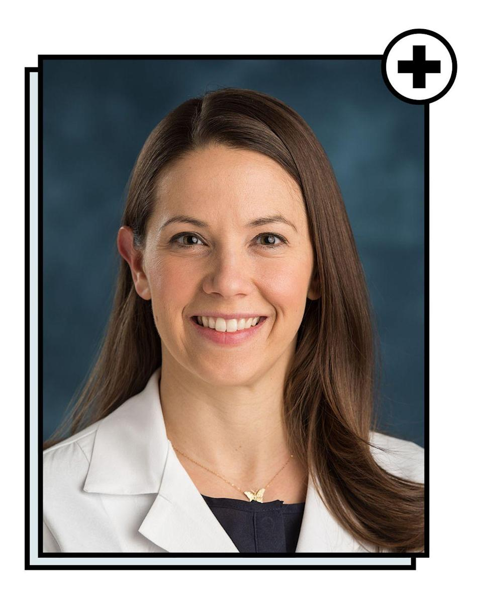 """<p>Carolyn Swenson, MD, is an assistant professor of obstetrics and gynecology at the <a href=""""https://umich.edu/"""" rel=""""nofollow noopener"""" target=""""_blank"""" data-ylk=""""slk:University of Michigan"""" class=""""link rapid-noclick-resp"""">University of Michigan</a>. She completed her residency in obstetrics and gynecology at the University of Utah in 2008, and in 2015, completed a fellowship in urogynecology at the University of Michigan. She is board-certified in the specialty of female pelvic medicine and reconstructive surgery, and her clinical practice is devoted to the medical and surgical management of pelvic floor disorders. Dr. Swenson's research has resulted in over 50 presentations at scientific meetings from Washington D.C. to Beijing. She has received research funding from the National Institutes of Health and currently serves as a peer reviewer for numerous national and international scientific journals.</p>"""