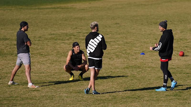 AFL PLAYERS TRAINING