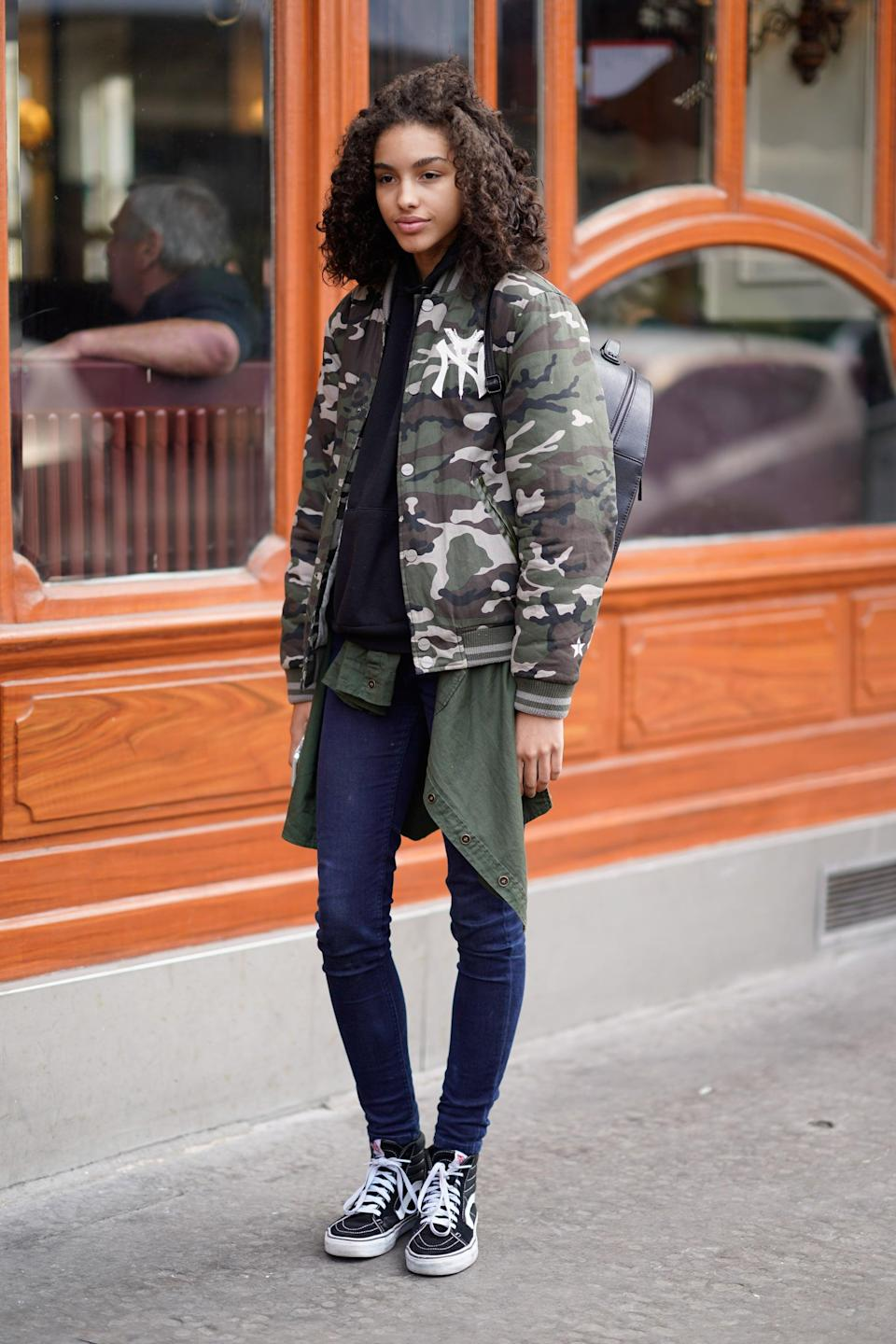 <p>With comfort and simplicity steering many sartorial decisions, wearing the jacket with dark wash denim and Vans is such a simple way to own the look.</p>