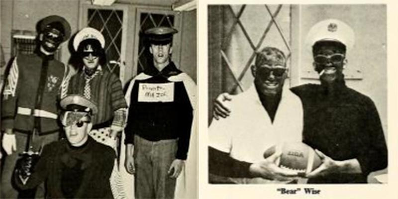 Two photos from VMI's 1968 yearbook, which was edited by the future state Sen. Tommy Norment. (Photo: Virginia Military Institute)