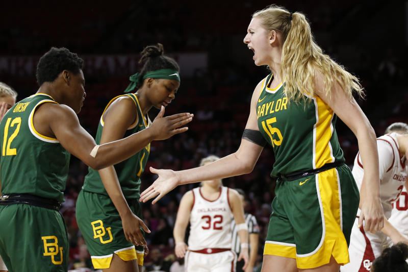 Title defenders: No. 2 Baylor women on roll into Big 12 play