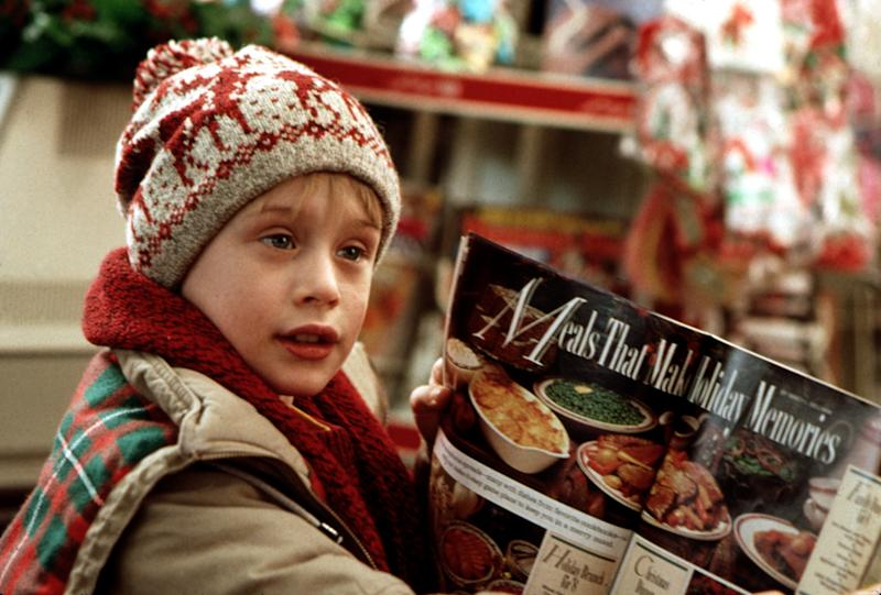 Macaulay Culkin in the 1990 Christmastime favorite, 'Home Alone' (Photo: 20th Century Fox Film Corp/Courtesy: Everett Collection)