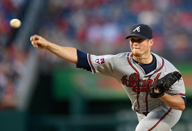 Craig Kimbrel might have an opening to join the Braves again. (AP Photo/Nick Wass, File)