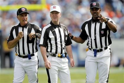 NFL officials will get back to work Thursday. (AP)