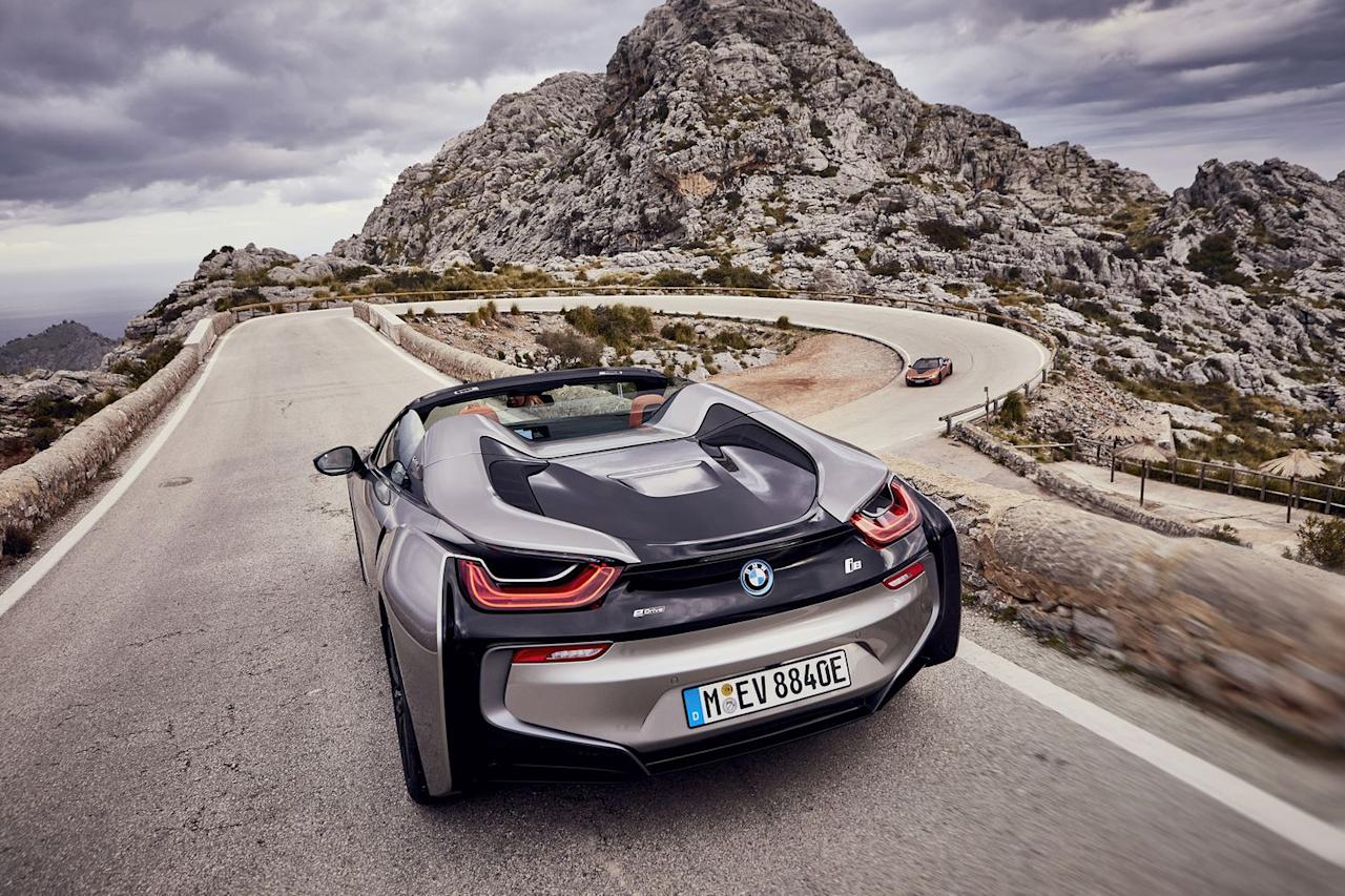 Bmw I8 Roadster The Gallery