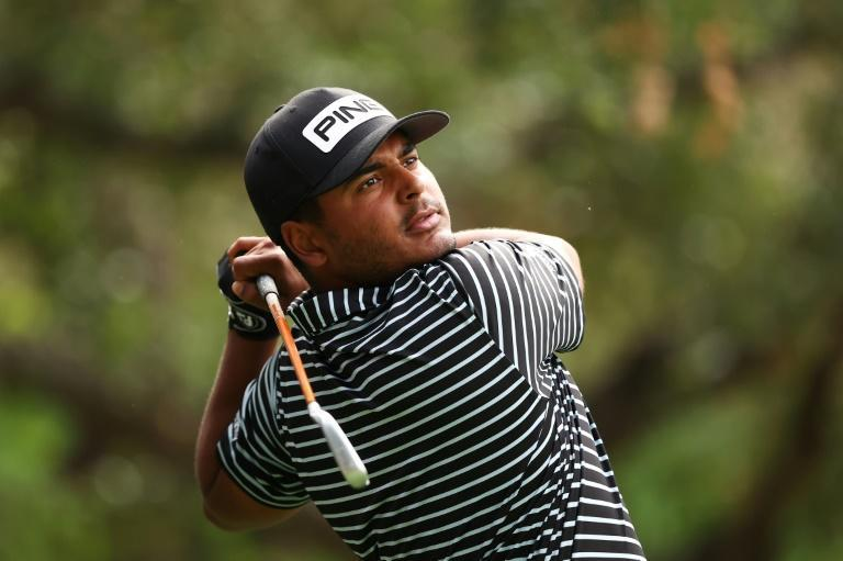 Colombia's Sebastian Munoz fired an eight-under 64 to seize the first-round lead Thursday at the US PGA Zozo Championship