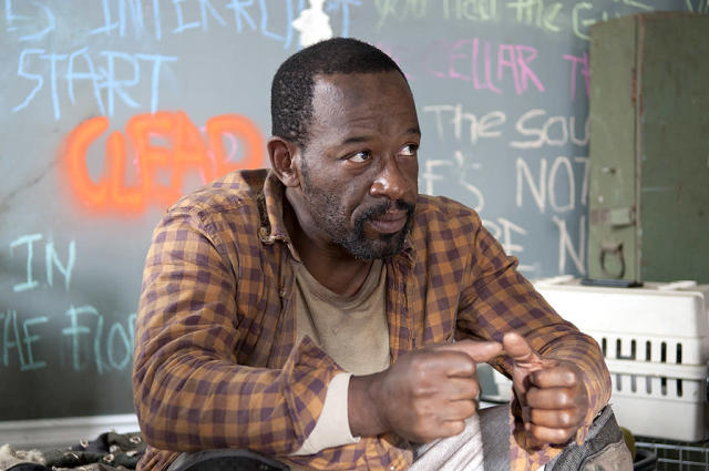 Lennie James as Morgan in AMC's <i>The Walking Dead</i>. (Photo: Gene Page/AMC)