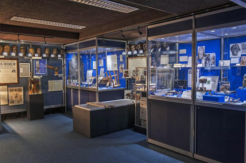 Exhibits from the Metropolitan Police's Crime Museum (Metropolitan Police / Museum of London)