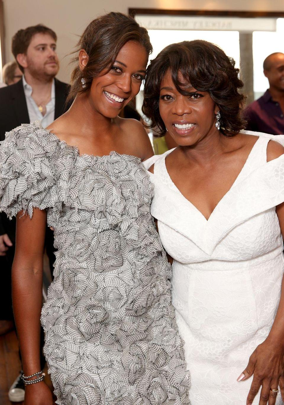 <p>Alfre Woodard's daughter Mavis Spencer left the prospect of Hollywood behind to pursue a career as a professional equestrian. But prior to that, she was Miss Golden Globe for the 2010 ceremony. </p>