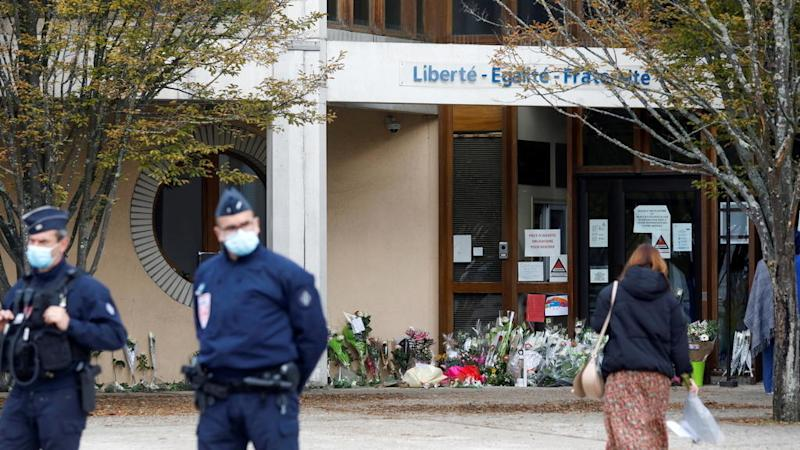 French prosecutor says murdered teacher had been target of threats