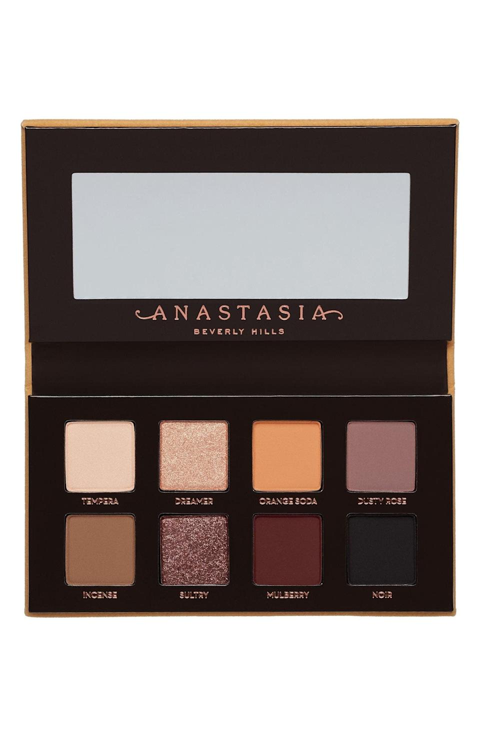 """<p><strong> The Product: </strong> <span>Anastasia Beverly Hills Soft Glam II Eyeshadow Palette</span> ($29)</p> <p><strong> The Rating: </strong> 4.8 stars </p> <p><strong> Why Customers Love It: </strong> For an everyday, natural look, or glam on-the-go, customers love this palette for it's great forumaltion, pigmentation and cute packaging. """"Great mini palette with all colors to get an everyday day to night look! This is great for travel and quickly semi neutral looks.""""</p>"""