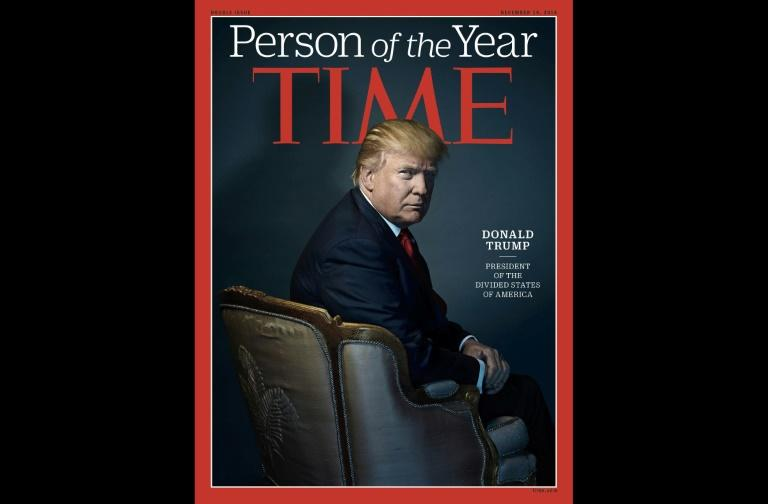 Trump takes a jab at Time magazine over Person of the Year