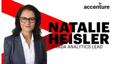 Heisler will focus on ensuring that Accenture is bringing the best analytics experience and solutions to its clients. (CNW Group/Accenture)