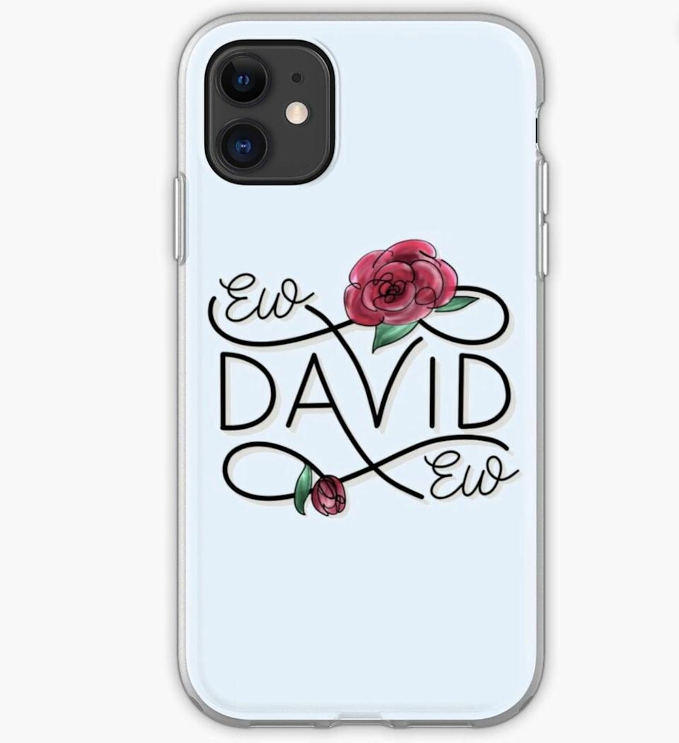 <p><span>Ew, David - Alexis Rose iPhone Case and Cover</span> ($24)</p>
