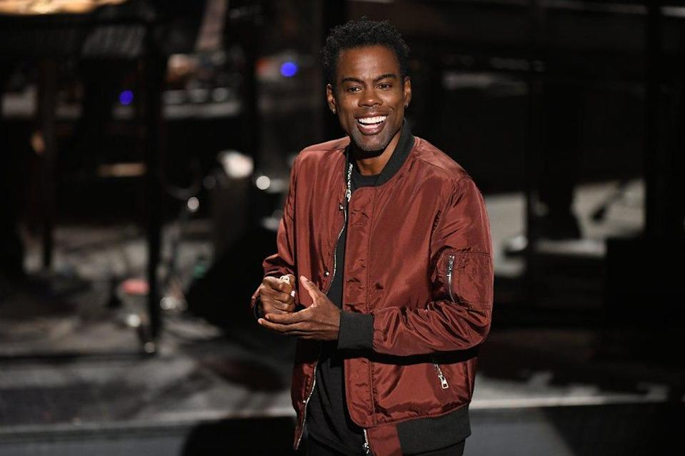 """Chris Rock hosted the Season 46 premiere of """"Saturday Night Live"""" on Oct. 3, 2020."""