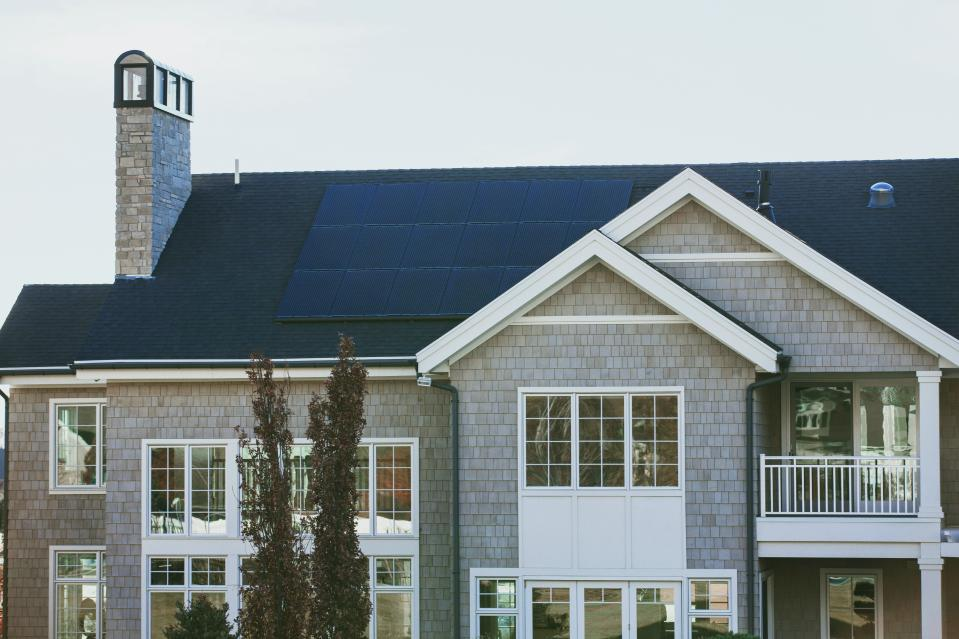 Solar panels are among the greener products Brits can't afford. (Vivint Solar/Unsplash)