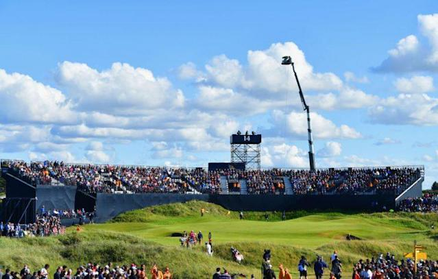It was a lovely day at the Open Championship. (Getty)