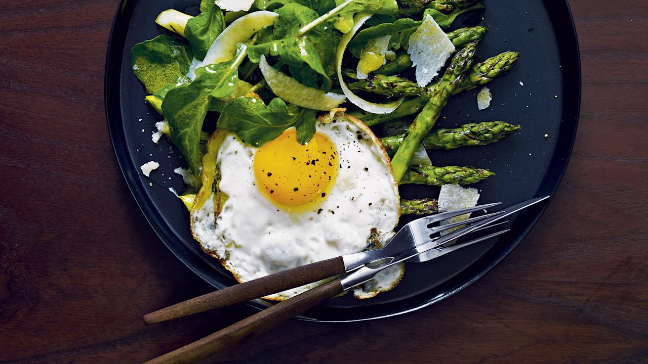 """<p>Get ready for <a rel=""""nofollow"""" href=""""http://www.foodandwine.com/holidays-events/easter/ultimate-easter-guide"""">Easter</a> Sunday with these 14 eggy recipes.</p>"""
