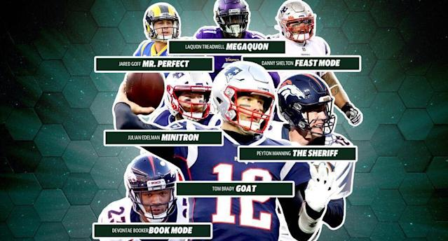 There is quite the collection of nicknames on Pro Football Reference, including some that are certainly mysterious. (Michael Aguilar/Yahoo Sports)