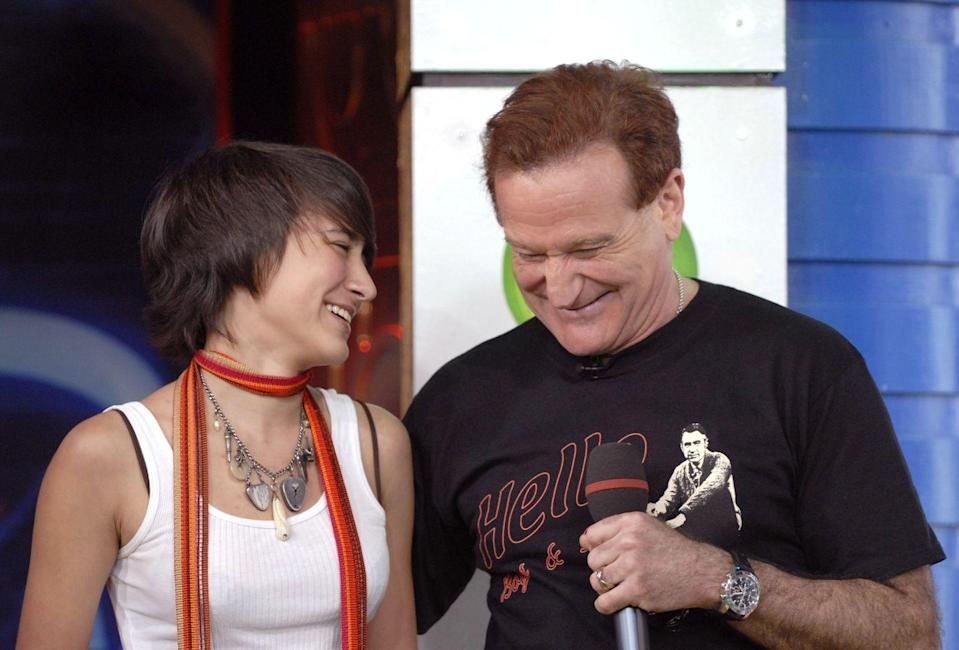 <p>Okay, this photo of Robin Williams and his daughter Zelda is the sweetest thing ever.</p>