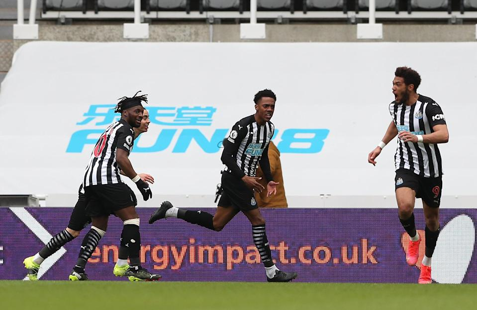 Willock could be a key summer signing for the MagpiesGetty Images