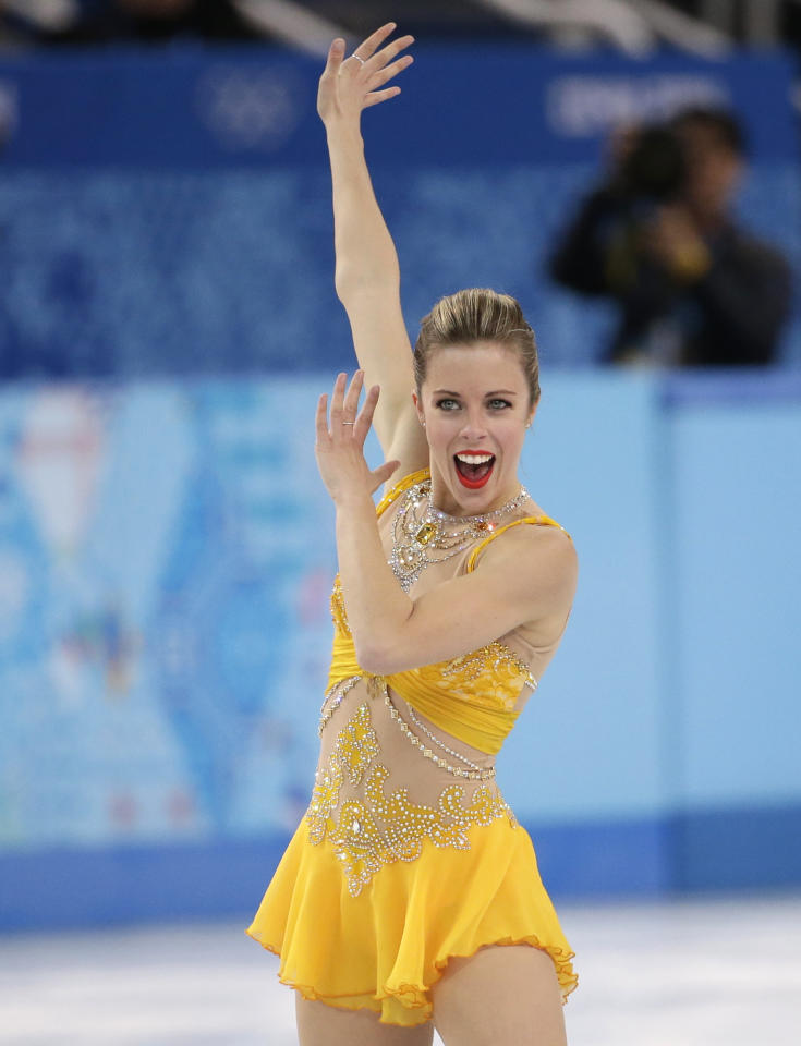 <p>Ashley Wagner left Sochi with a bronze medal, but continued competing with the goal of making the 2018 PyeongChang games. She finished fourth at the US National Championships and was named an alternate for Team USA. </p>