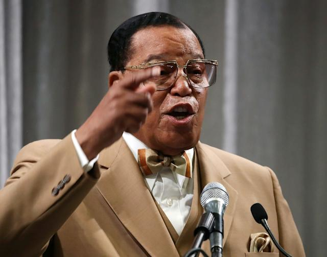 "Nation of Islam leader Minister Louis Farrakhan recently said ""powerful Jews"" are his ""enemy."""