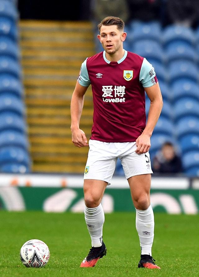 Burnley defender James Tarkowski has been linked with a move away from Turf Moor