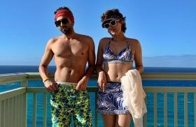 Ayushmann Khurrana and Tahira Kashyap enjoy an exotic Christmas in the Bahamas