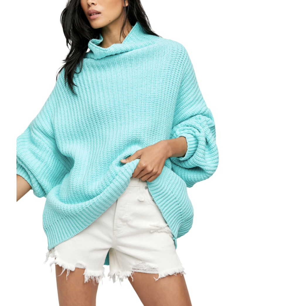 Swim Too Deep Turtleneck Sweater - Free People, Nordstrom, $70 (originally $128)